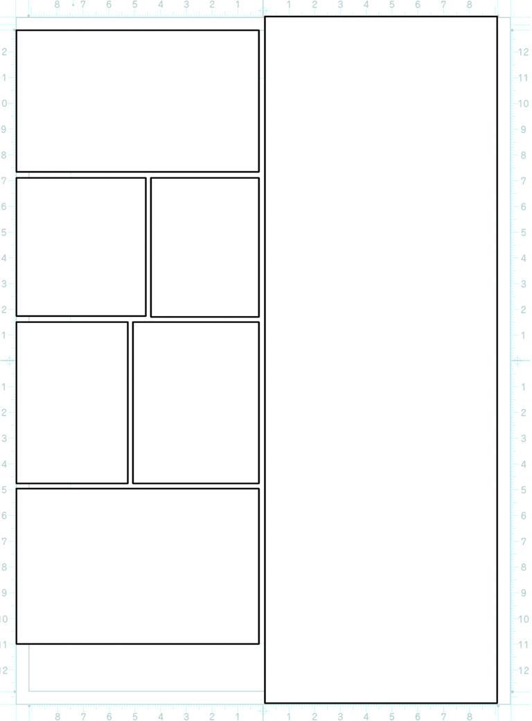 comic layout