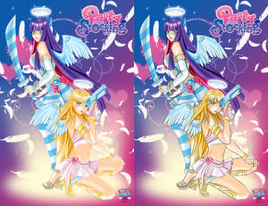 Panty and Stocking Fan Poster