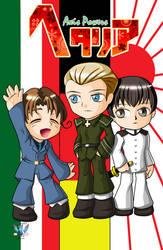 Hetalia - Italy Germany Japan 001