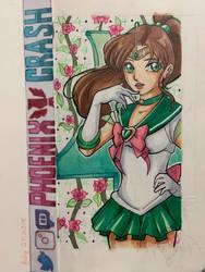 Sailor Jupiter Copic Sketch