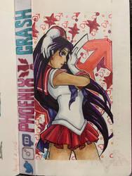 Sailor Mars Copic Sketch