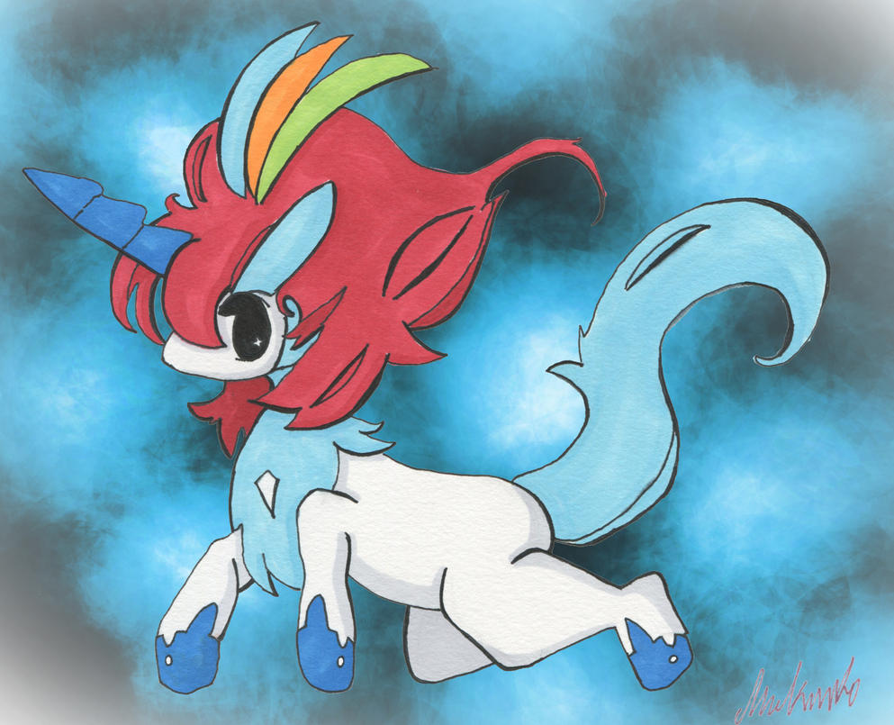 Keldeo Resolute Form by Negau