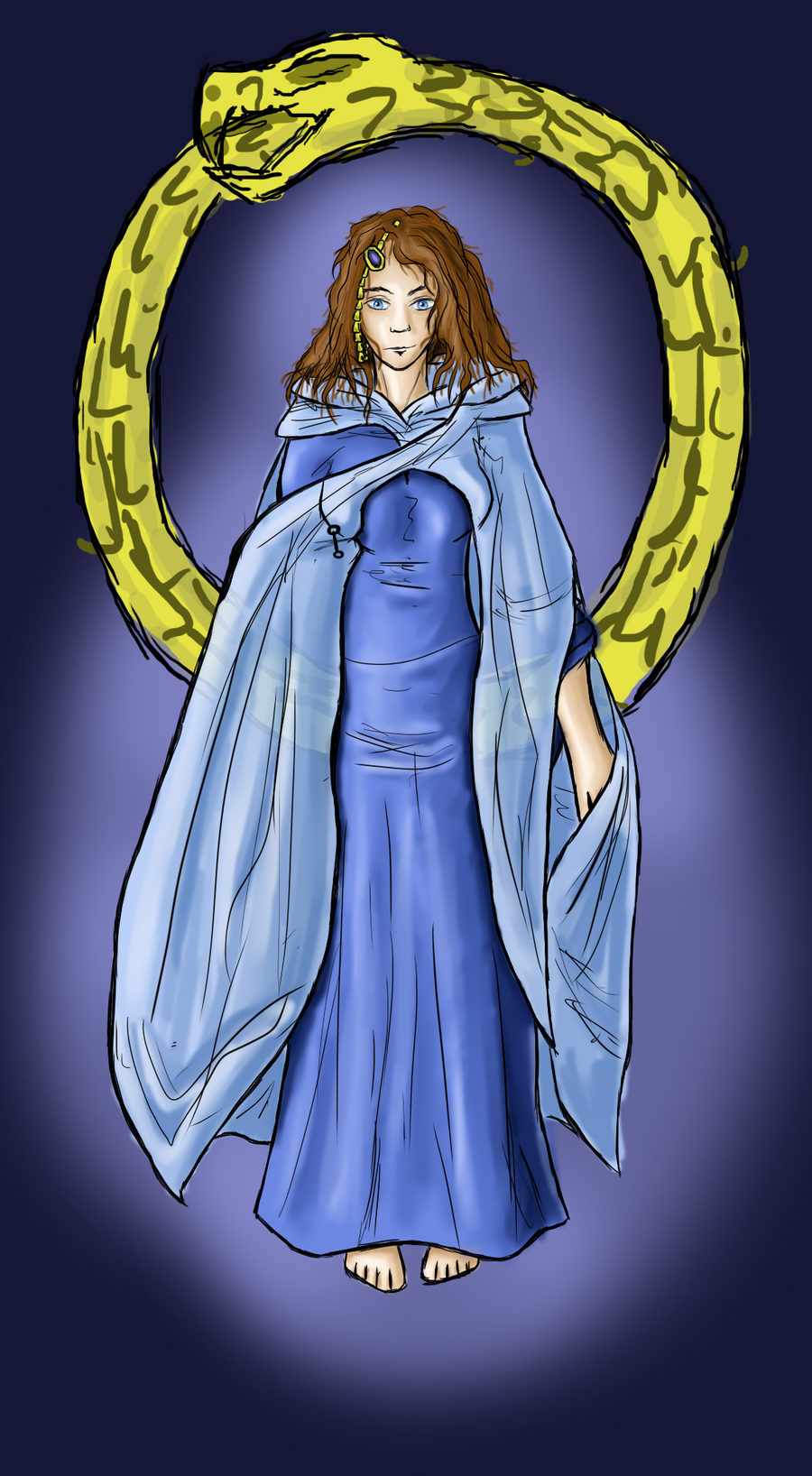 The White Tower Blue Ajah By Gjillon On Deviantart