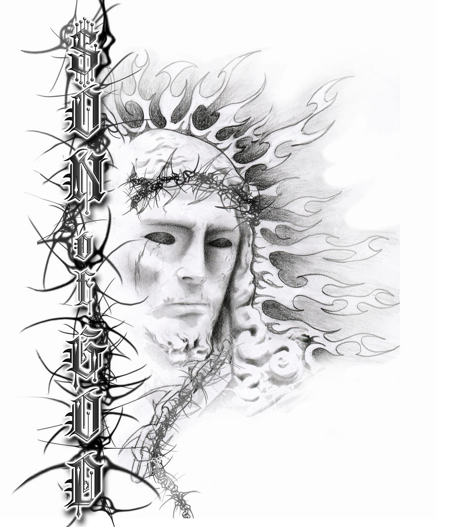 Jesus son of god tattoo by neogzus on deviantart for God s son tattoo