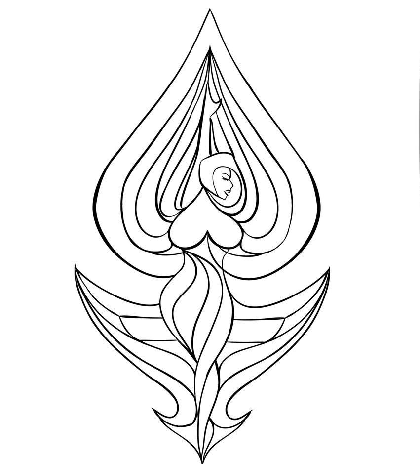 lesbian coloring pages - photo#16
