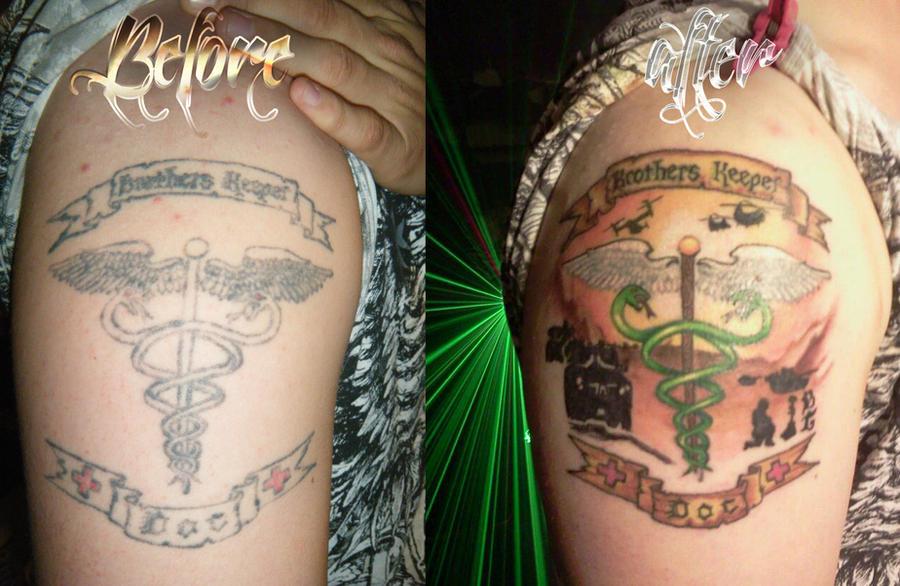 marine medic military tattoo