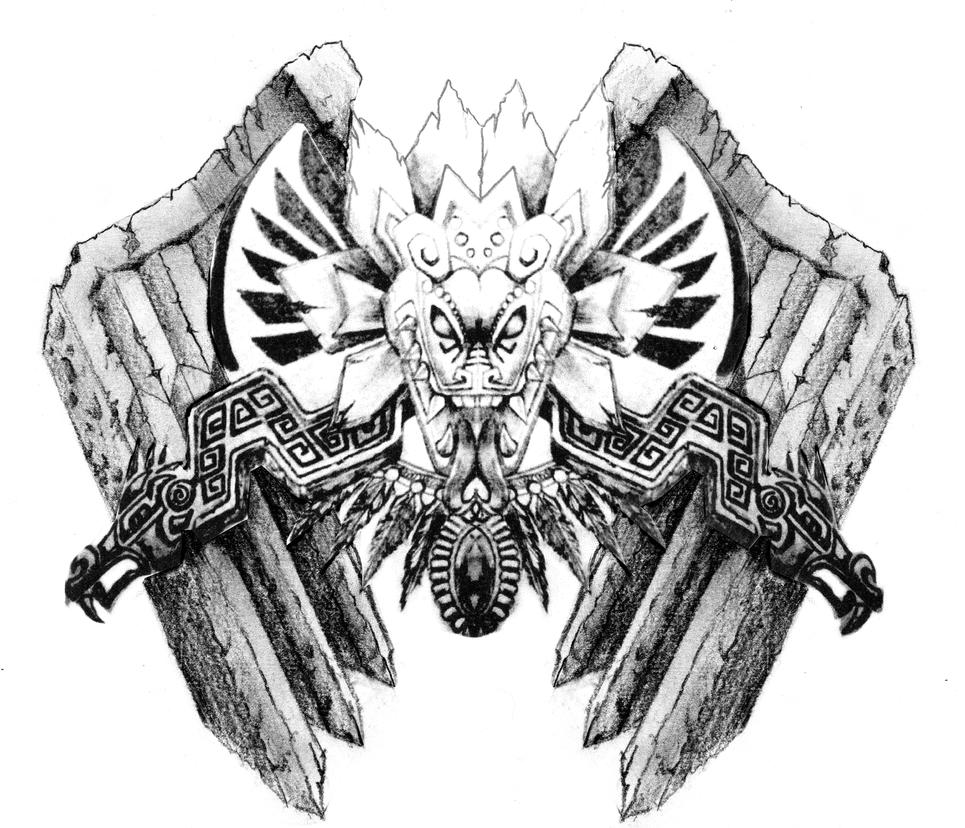 Aztec Dragon With Wings By NeoGzus On DeviantArt