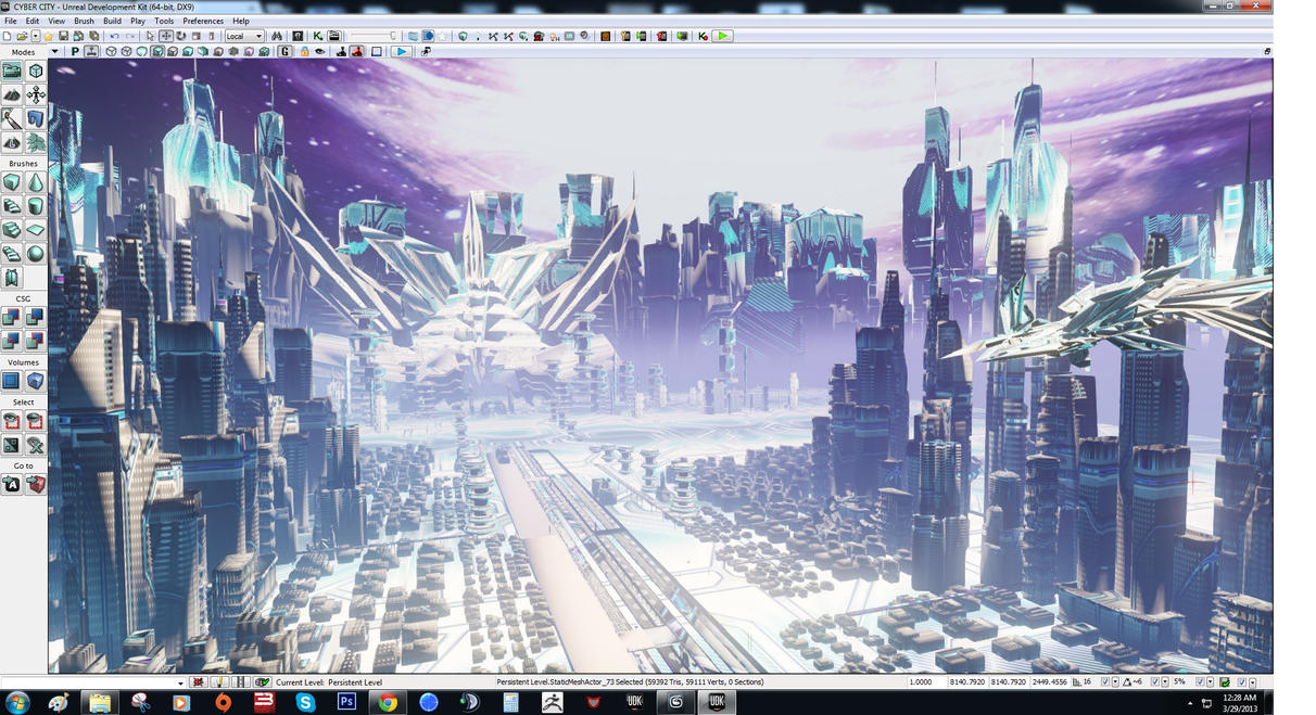 Arcturian Cityscape UDK by NeoGzus