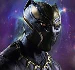 Golden Black Panther Chadwick