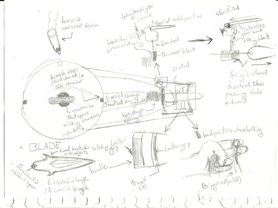 erza weapon schematics by c0mplex