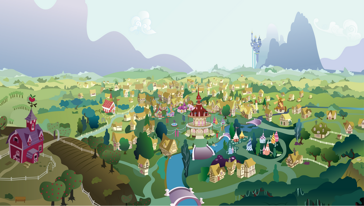 A View of Ponyville
