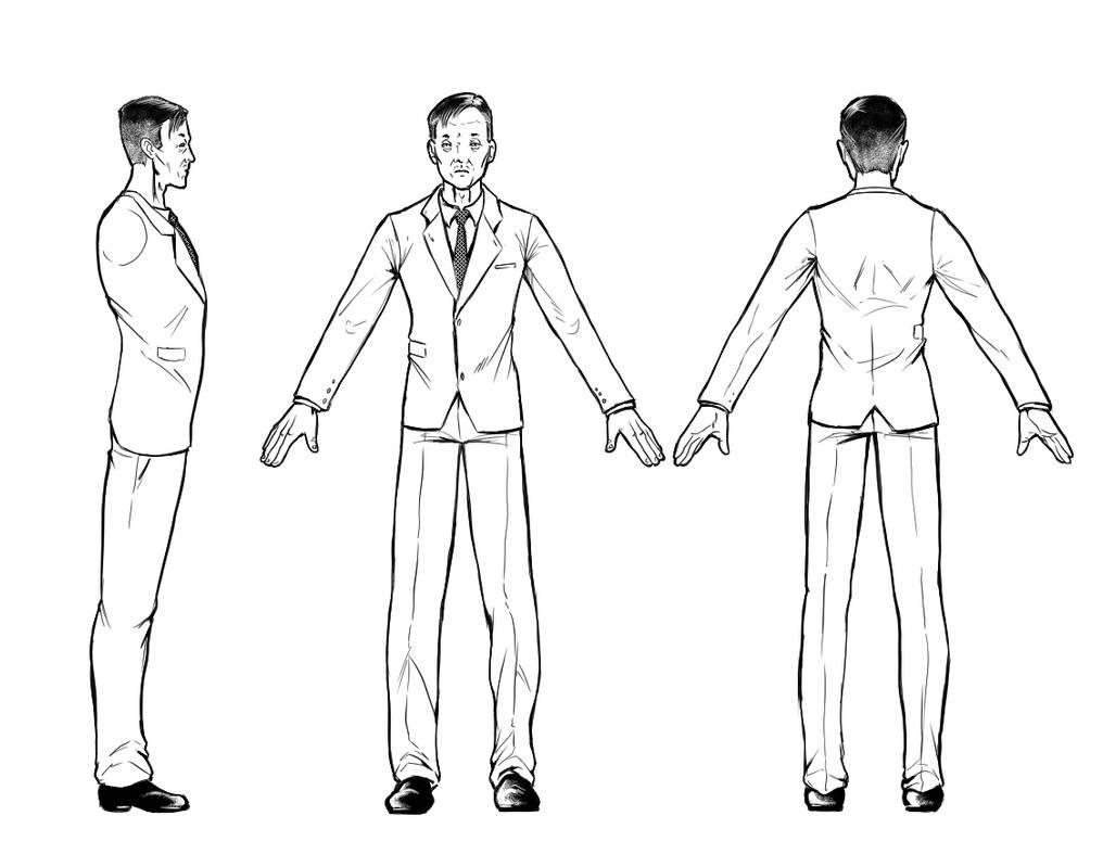 Ji Lie Character sheet by RockAlves