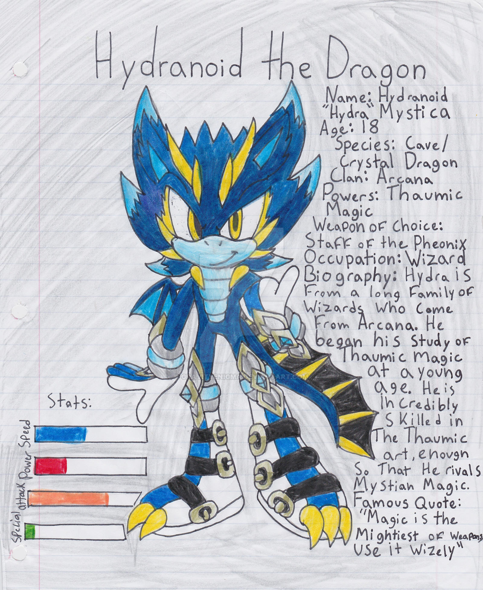 Hydra Dragon Pokemon Hydranoid The Dragon Bio Card By Wickedzekrom Dluuzb