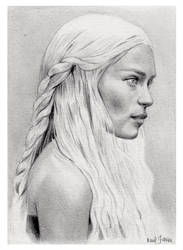DAENERYS by Raul Guerra by chicourano