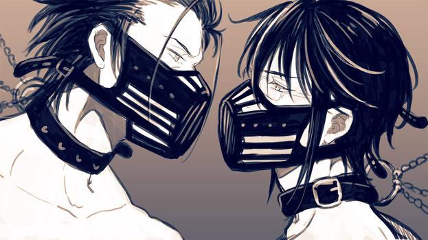 [K/MikoRei] Kiss or Fight