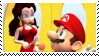 Stamp Mario x Pauline by MarioBeePlz