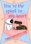 Wall-e's V-day card