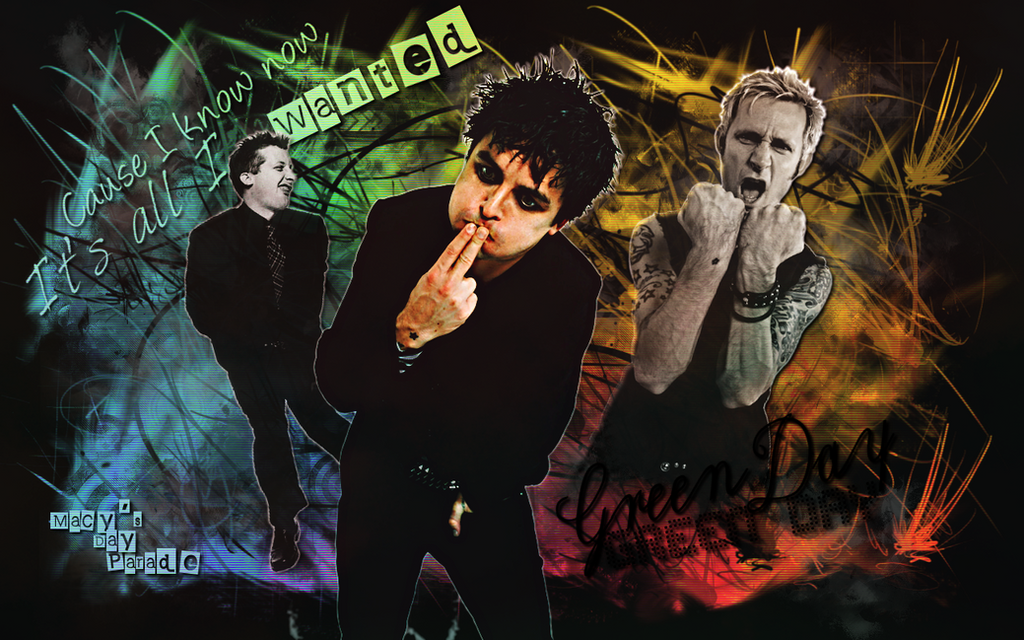 wallpaper green day. Green Day Wallpaper Color by