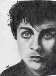 Billie Joe Armstrong Sketch by Santonator
