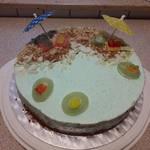 Beach Cake by MissPrimrosy