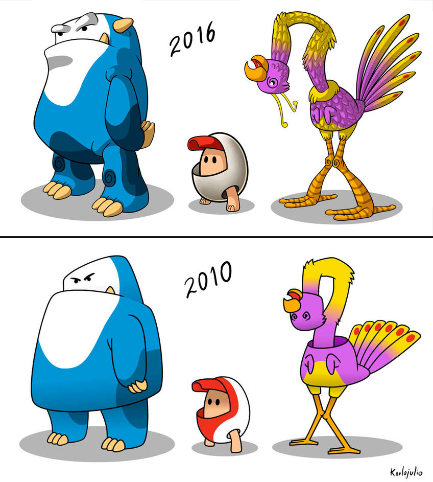 Personajes 2010-2016 by KARLOJULIO
