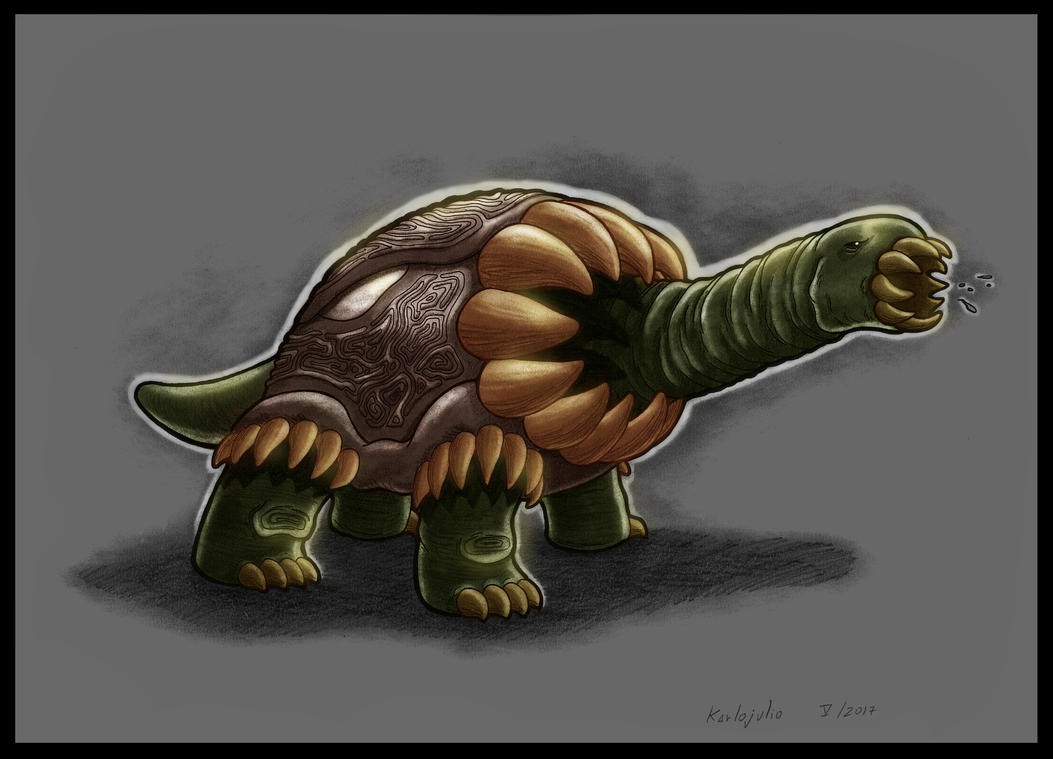 Guardian tortuga - color by KARLOJULIO on DeviantArt