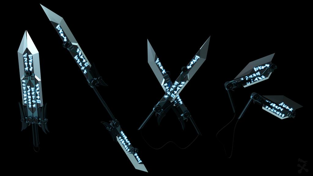 Bladed Fan Weapon : Break blade rwby oc weapon by jackbryanreynard on deviantart