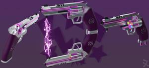 Pink Lightning (RWBY OC weapon)