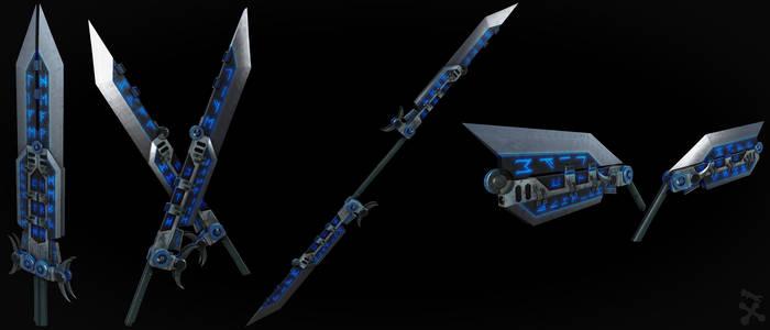 Break Blade - Redux (RWBY OC weapon)