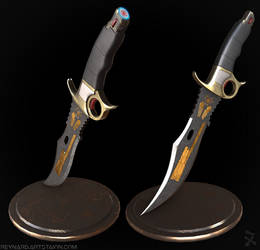 Custom Data Knife (Titanfall 2)