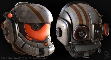Viper's Helmet (Titanfall 2)