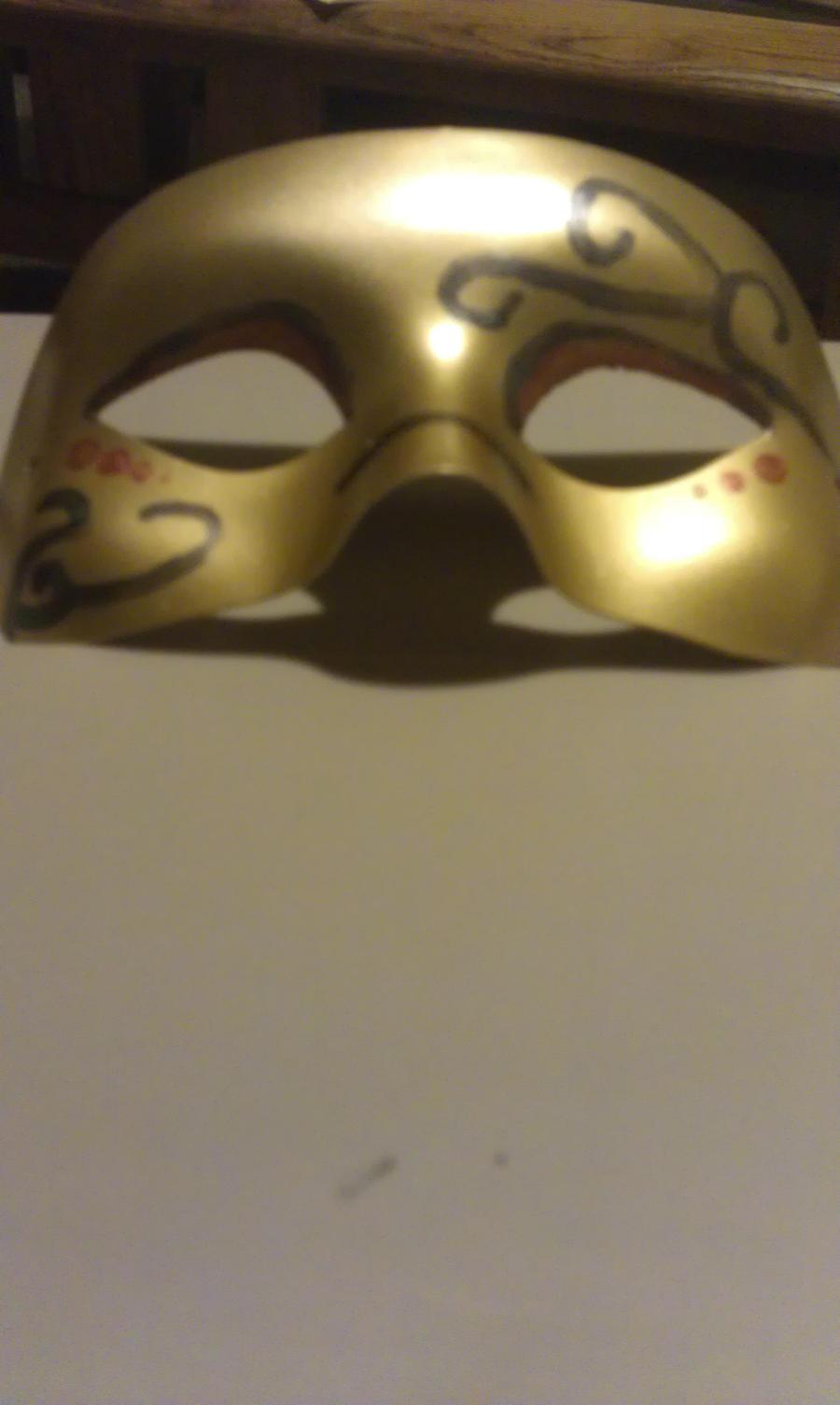 elegant mask by anaracorra