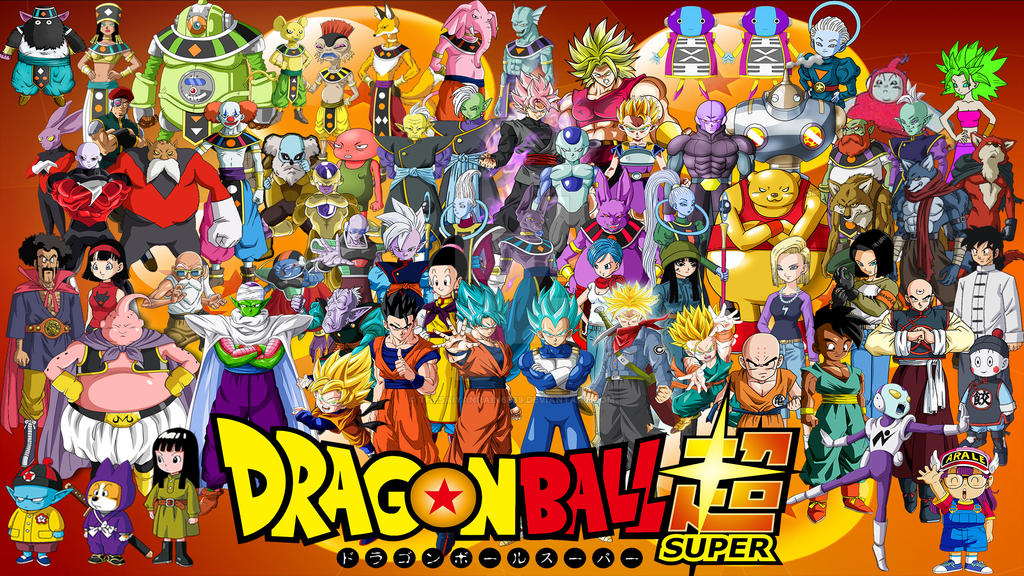 Dragon Ball Super All Characters by TheSaiyanRain6569 on ...