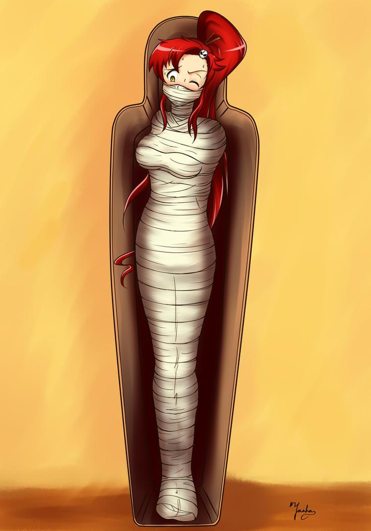 Mummified Bondage - Big Tits Fat