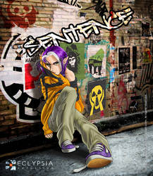 Sentence: Webcomic Cover by Izabela-Wilson