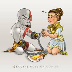 Kratos e Athena