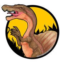Spinosaurus badge by Silver-Ray