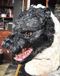 Godzilla head prop WIP by Silver-Ray