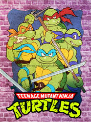Ninja Turtles oldie by Silver-Ray