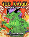 Kaiju coloring artbook is out now!