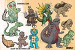 Kaiju sketch dump 2012-2017