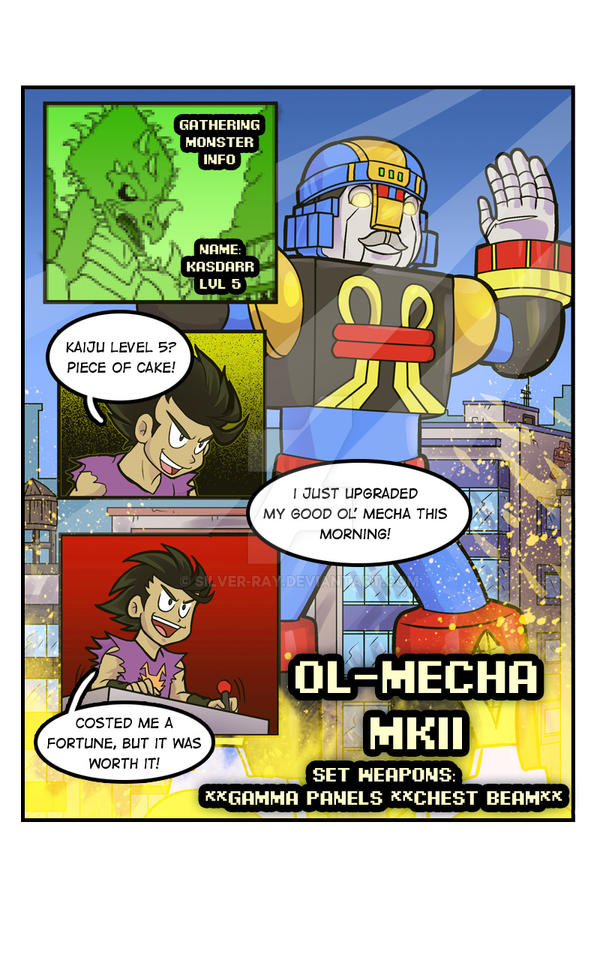 CK 002 Comic page Good Ol' Mecha by Silver-Ray