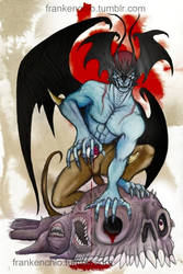 Prey (Devilman Fan art) by Silver-Ray