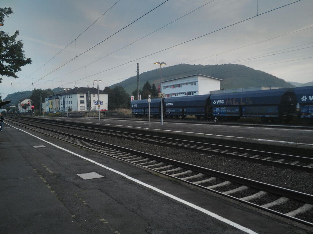My Hometown Railwaystation by JoGut