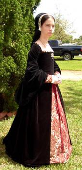 Tudor Gown 2