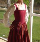 Hand Sewn 16th Century Corset3