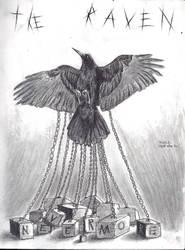 The Raven-tribute to Edgar Allan Poe by Sofery