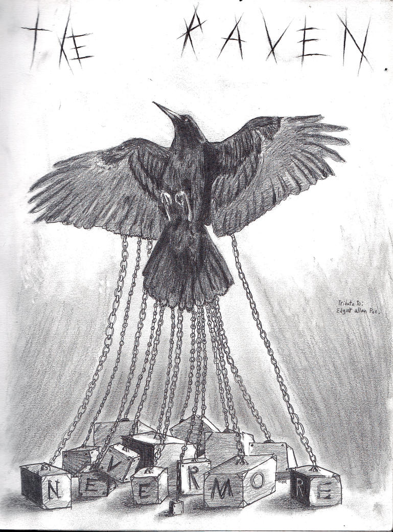 The Raven-tribute to Edgar Allan Poe by Sofery on DeviantArt