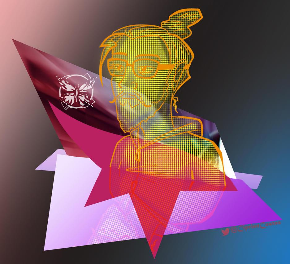 Mirror's Edge Fan Art - Self Echo by existtraiesc