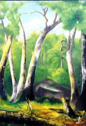 The Forest by r-Ghaidaa